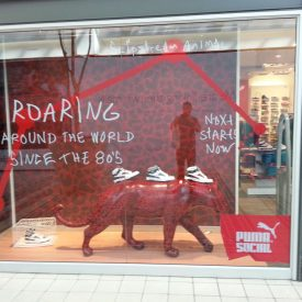 Puma Window Display