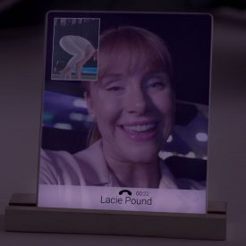 Black Mirror TV Series - Props phone card