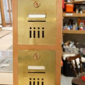 fake post box panels