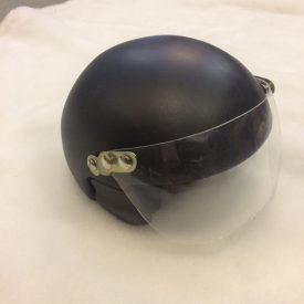 Fabricated vespa helmet