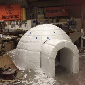 Fabricated Igloo