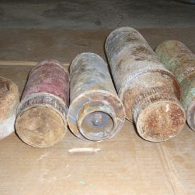 Fabricated Fake improvised explosive device